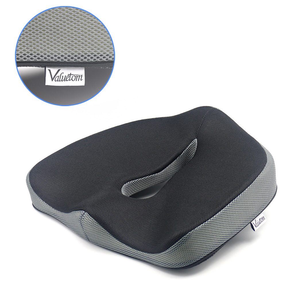Seat Cushion For Back Pain >> Valuetom Memory Foam Chair Pads Coccyx Low Back Pain Seat